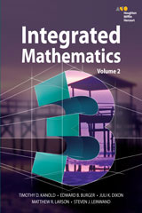 HMH Integrated Math 3  Interactive Student Edition Volume 2 (consumable)-9780544389892