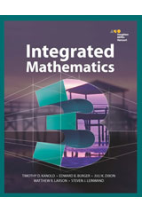 HMH Integrated Math 3  Student Edition-9780544389908