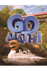 Go Math! 6 Year Print Multi-Volume Student Edition Bundle Grade 2-9780544390348