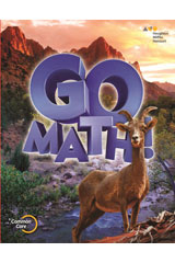 Go Math!  Teacher Edition and Planning Guide Bundle Grade 6-9780544390560