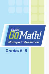 Go Math 2015 Texas Getting Started eLearning 35 User License Grade 6-8