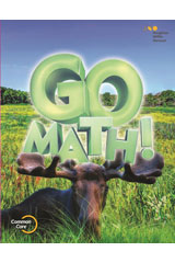Go Math! 6 Year Print Student Edition Set Grade 3-9780544433489