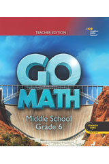 GO Math 1 Year Individual Teacher Resource Package Grade 6-9780544443563