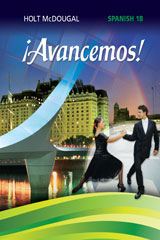 McDougal Littell ¡Avancemos! 6 Year Print Cuaderno para hispanohablantes (Student) Level 1B-9780544451353