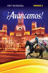 McDougal Littell ¡Avancemos! 6 Year Print Cuaderno para hispanohablantes (Student) Level 2-9780544451391