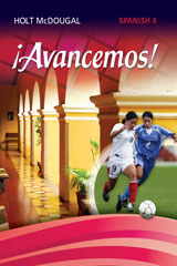 McDougal Littell ¡Avancemos! 6 Year Print Cuaderno Student Edition Level 4-9780544451438
