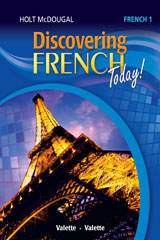 Discovering French Today 6 Year Print Workbook Level 1-9780544451551