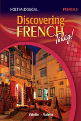 Discovering French Today 6 Year Print Workbook Level 3-9780544451599