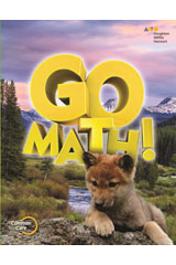 GO Math!  Vocabulary Activities Bundle Grade 1-9780544451803