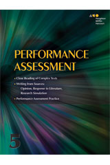Houghton Mifflin Harcourt  Performance Task Assessment Student Edition Grade 5-9780544465190