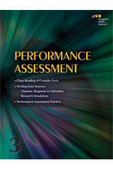 Journeys  Performance Task Assessment Student Grade 3-9780544465206