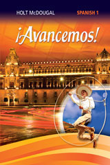 McDougal Littell ¡Avancemos! 3 Year Print Cuaderno para hispanohablantes (Student) Level 1-9780544465329