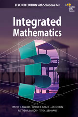 HMH Integrated Math 3 5 Year Teacher Resource Package-9780544504844