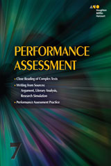 Collections  Online Performance Assessment Teacher's Guide 3-year Grade 7-9780544541030