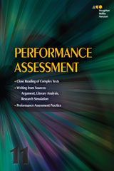 Collections 3 Year Online Performance Assessment Teacher's Guide Grade 11-9780544541092