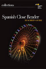 Collections  Spanish Close Reader Teacher Edition Grade 6-9780544569263