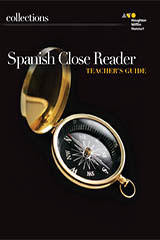Collections  Close Reader Teacher Edition Spanish Grade 8-9780544569287