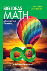 Big Ideas MATH Student Print Package 6 Year Green