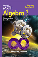 Big Ideas MATH Premium Student Resource Package with 6 Year Print/6 Year Digital Algebra 1