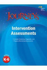 Journeys  Intervention Assessment Grades K-6-9780544593503
