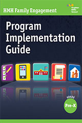 HMH Family Engagement  Program Implementation Guide Grade PreK-9780544597198