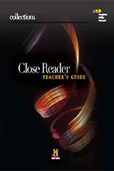 Collections  Online Close Reader, Teacher Access 8-Year Grade 11-9780544600539