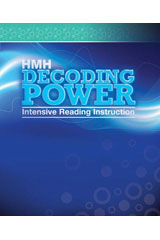 Journeys 6 Year Digital Decoding Power: Intensive Reading Instruction System Grade 3-9780544612778