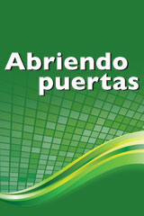 Abriendo puertas: ampliando pespectivas 8 Year Subscription Student Package Worktext and Online Student Resources-9780544633322