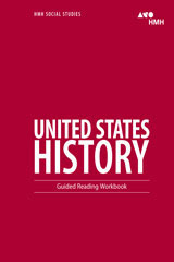 HMH Social Studies United States History  Guided Reading Workbook-9780544668119