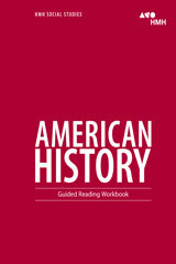 American History  Guided Reading Workbook-9780544668140
