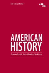 American History  English/Spanish Guided Reading Workbook-9780544668157