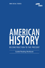 order hmh social studies american history reconstruction to the rh hmhco com american history guided reading workbook answers guided reading workbook us history answers houghton mifflin