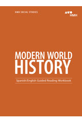 HMH Social Studies Modern World History  Guided Reading Workbook-9780544669130