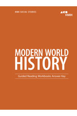 Modern World History  Guided Reading Workbook Answer Key-9780544669154