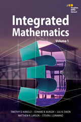 HMH Integrated Math 3 with 1 Year Digital Hybrid Classroom Package Enhanced for 75 students-9780544671287