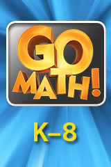 Go Math 2015  Getting Started eLearning 1 User License Grade K-6-9780544782662
