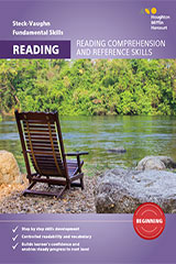 Steck-Vaughn Fundamental Skills for Reading Comprehension & Ref Skills Beginning Workbook