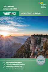 Steck-Vaughn Fundamental Skills for Writing Literacy Skills Literacy Workbook