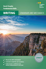 Steck-Vaughn Fundamental Skills for Writing Grammar & Mechanics Literacy Workbook