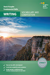 Steck-Vaughn Fundamental Skills for Writing Vocabulary & Composition Literacy Workbook
