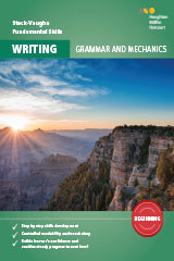 Steck-Vaughn Fundamental Skills for Writing Grammar & Mechanics Beginning Workbook