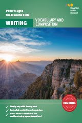 Steck-Vaughn Fundamental Skills for Writing Vocabulary & Composition Beginning Workbook