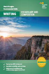 Steck-Vaughn Fundamental Skills for Writing  Vocabulary & Composition Intermediate Workbook-9780544790889