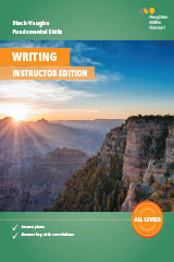 Steck-Vaughn Fundamental Skills for Writing  Instructor Edition-9780544791169