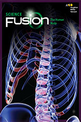 ScienceFusion 5 Year Print/5 Year Digital Hybrid Student Resource Package Module C Grades 6-8 Module C: The Human Body-9780544833586