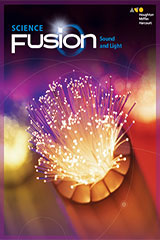 ScienceFusion  Hybrid Teacher Resource Package Module J (Print/6yr Digital)  Grades 6-8 Module J: Sound and Light-9780544834040