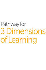 ScienceFusion  Student Pathways to 3 Dimensions of Learning (5yr Print/5yr Digital) Grade 1-9780544843745