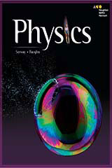 HMH Physics Premium Student Resource Package 1 Year Print/6 Year Digital
