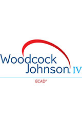 Woodcock-Johnson IV ECAD Test Record & Response Worksheet with Individual Score Report, Package of 25
