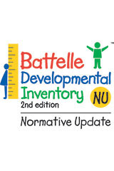 Battelle Developmental Inventory, 2nd Edition, Normative Update  Upgrade Kit-9780544939219
